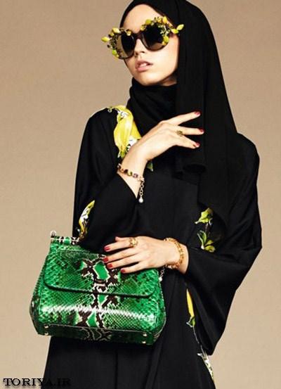 مدل مانتوهای عربی برند D&G در سال 2016