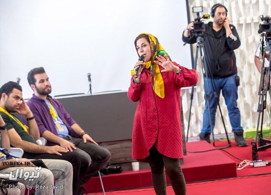 عکس های فاطمه معتمدآریا در جشنواره فیلم فجر