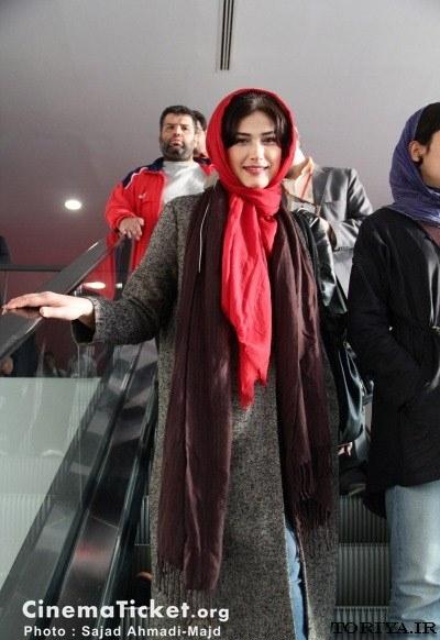 لادن مستوفی در جشنواره بین المللی فیلم فجر
