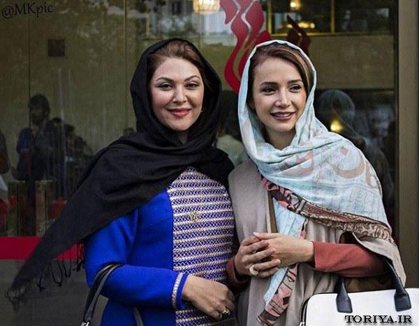 تصاویر شبنم قلی خانی و لاله اسکندری