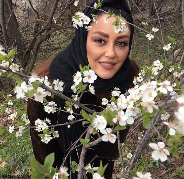 جدیدترین عکسهای شقایق فراهانی در بهار ۹۵