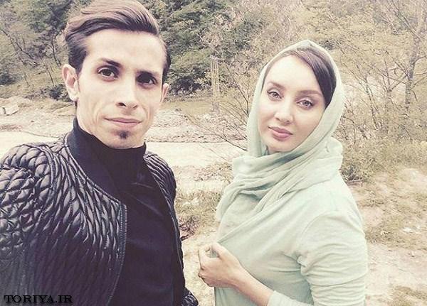 عکس سولماز حصاری و برادرش سامیار