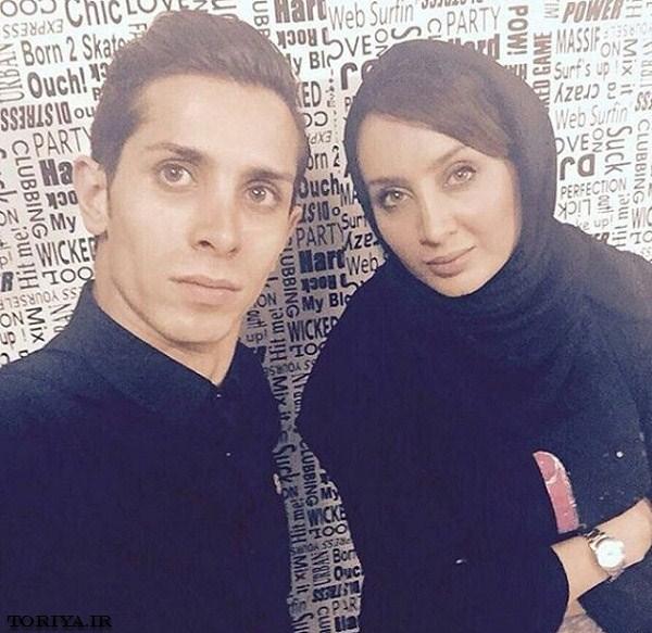سولماز حصاری و برادرش سامیار