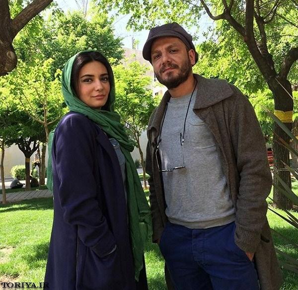عکس لیندا کیانی و عباس غزالی