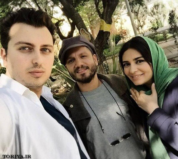 لیندا کیانی در کنار عباس غزالی