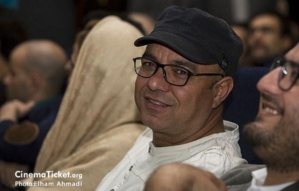 سعید آقا خانی در اکران خصوصی فیلم بدون مرز