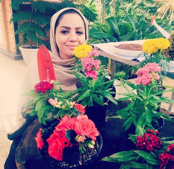 عکس مجری مبینا نصیری