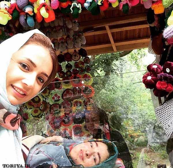 شبنم قلی خانی در بازارچه زیبای قلعه رودخان(فومن)