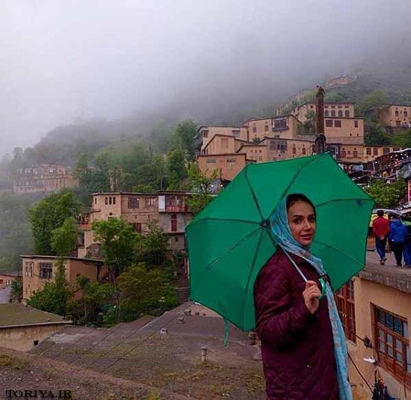 عکسهای جدید شبنم قلی خانی در شمال