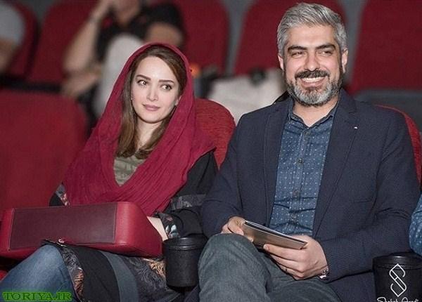 عکس بهنوش طباطبایی و همسرش در اکران فیلم دونده زمین