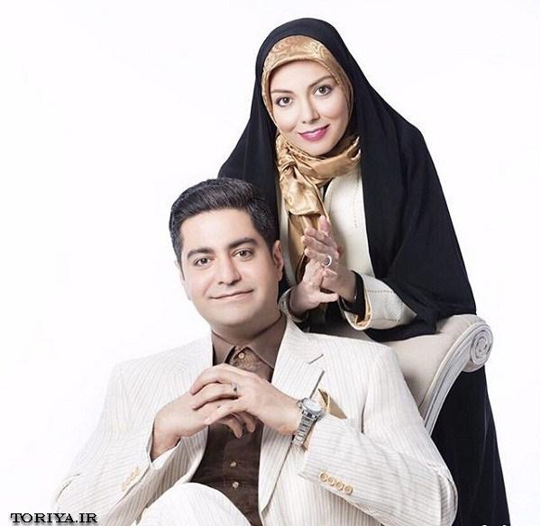 عکسهای جدید آزاده نامداری و همسرش