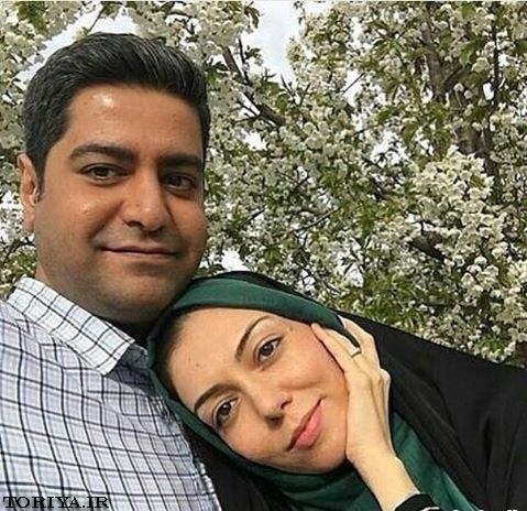 آزاده نامداری و همسرش سجاد عابدی