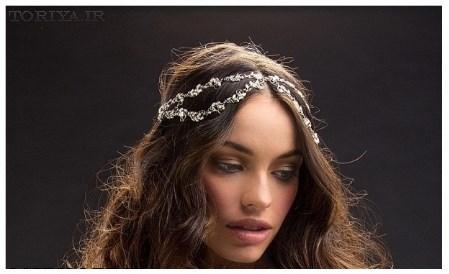 مدل تاج عروس برند Mariaelena