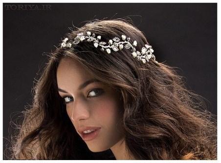 مدل جدید تاج عروس 1395
