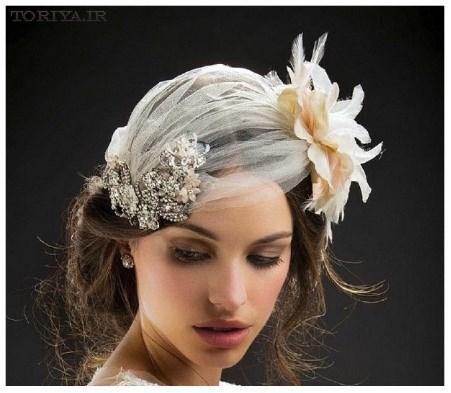 جدیدترین مدل های تاج عروس برند Maria Elena