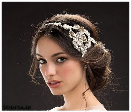 شیک ترین مدل تاج عروس خارجی