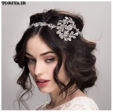 جدیدترین مدل  تاج عروس 2016