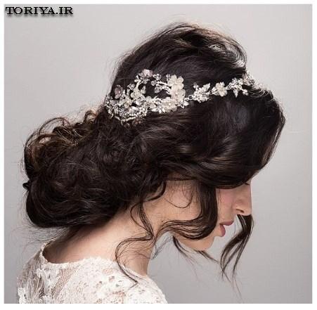 عکس مدل تاج عروس