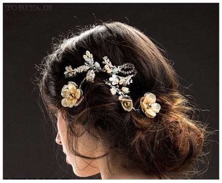 مدل تاج عروس برند ماریا النا