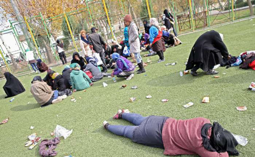 تحلیلی بر کارتن خوابی زنان در ایران