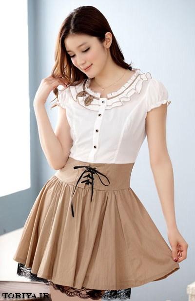 زیباترین مدلهای لباس کوتاه تابستانه