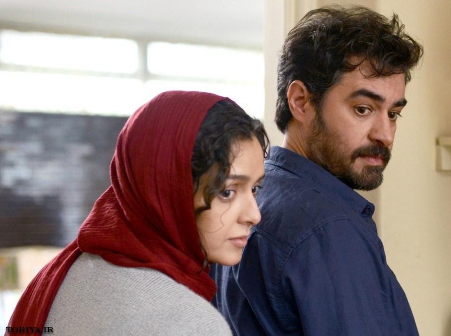 شهاب حسینی و ترانه علیدوستی در نمایی از فیلم فروشنده