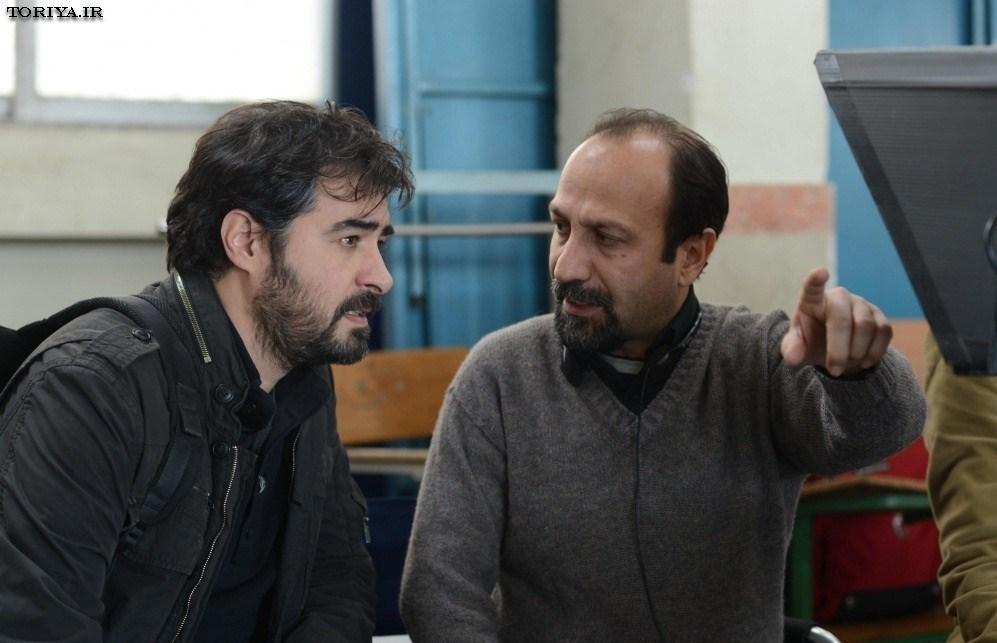 عکس شهاب حسینی و اصغر فرهادی