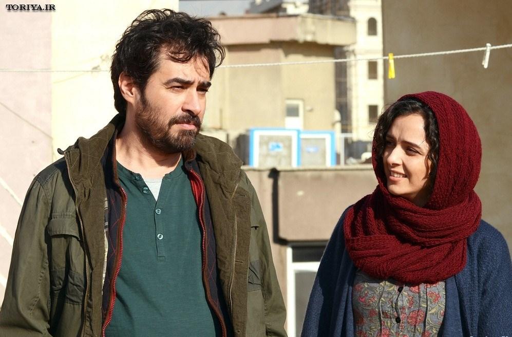 ترانه علیدوستی و شهاب حسینی در فیلم فروشنده
