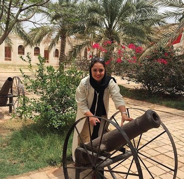 عکسهای جدید نرگس محمدی در بوشهر