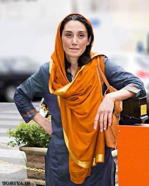 عکس کمیاب هدیه تهرانی