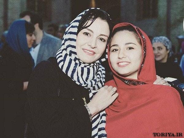 عکس مریلا زارعی و حسبیا ایراهیمی