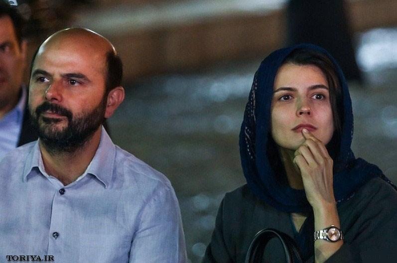 عکس لیلا حاتمی و همسرش علی مصفا در جشن عکاسان سینما