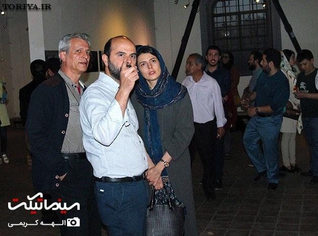 لیلا حاتمی و علی مصفا در جشن عکاسان سینما