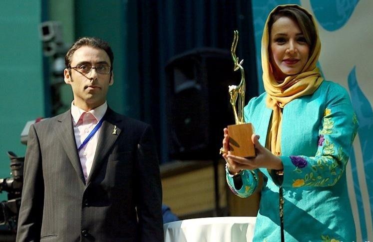 عکس شبنم قلی خانی در افتتاحیه فیلم سبز