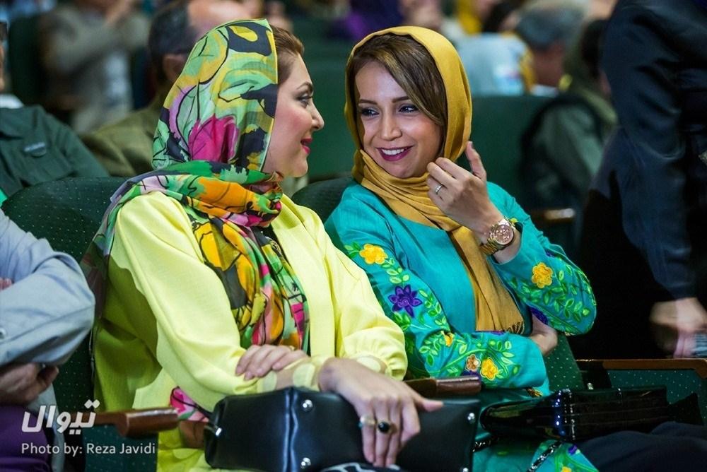 شبنم قلی خانی و لاله اسکندری افتتحایه جشنواره فیلم سبز