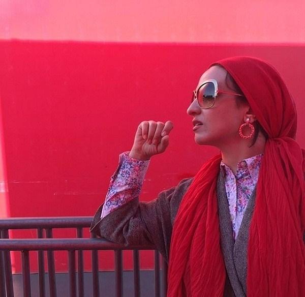 عکسهای جدید گلاره عباسی در باکو