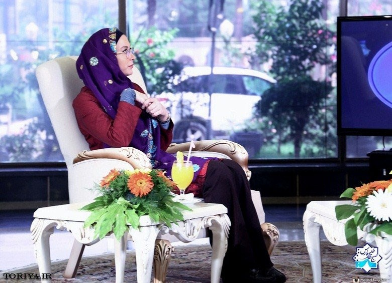 فریبا نادری برنامه صبح خلیج فارس
