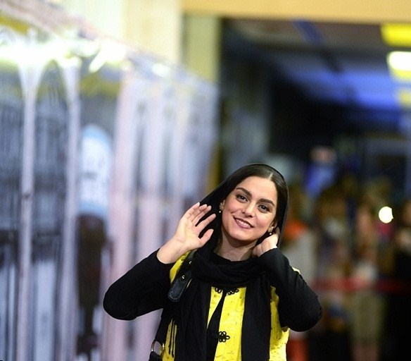 عکسهای غزل شاکری در جشن سریال شهرزاد