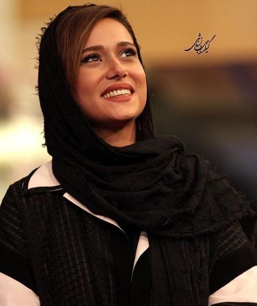 عکسهای پریناز ایزدیار در جشن سریال شهرزاد