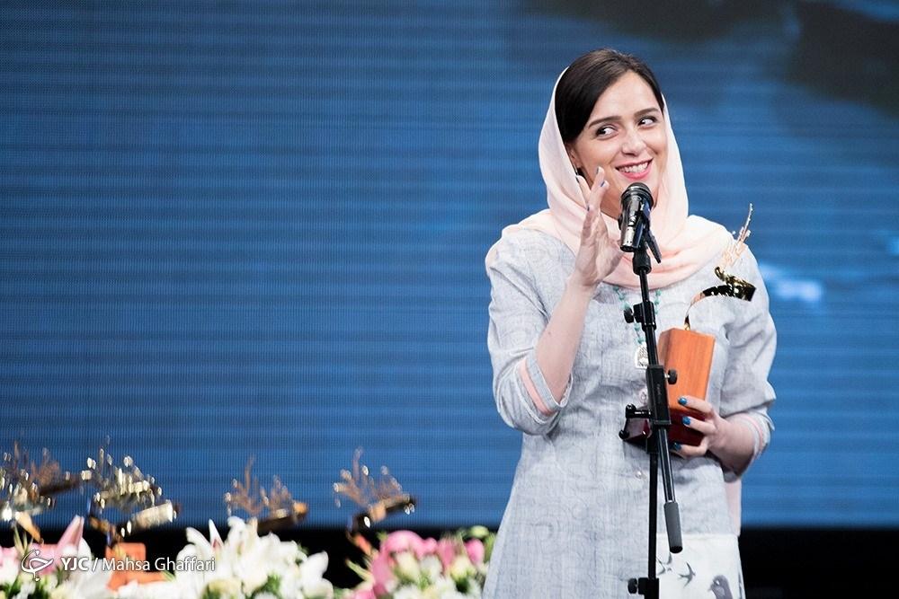عکس ترانه علیدوستی در جشن سریال شهرزاد