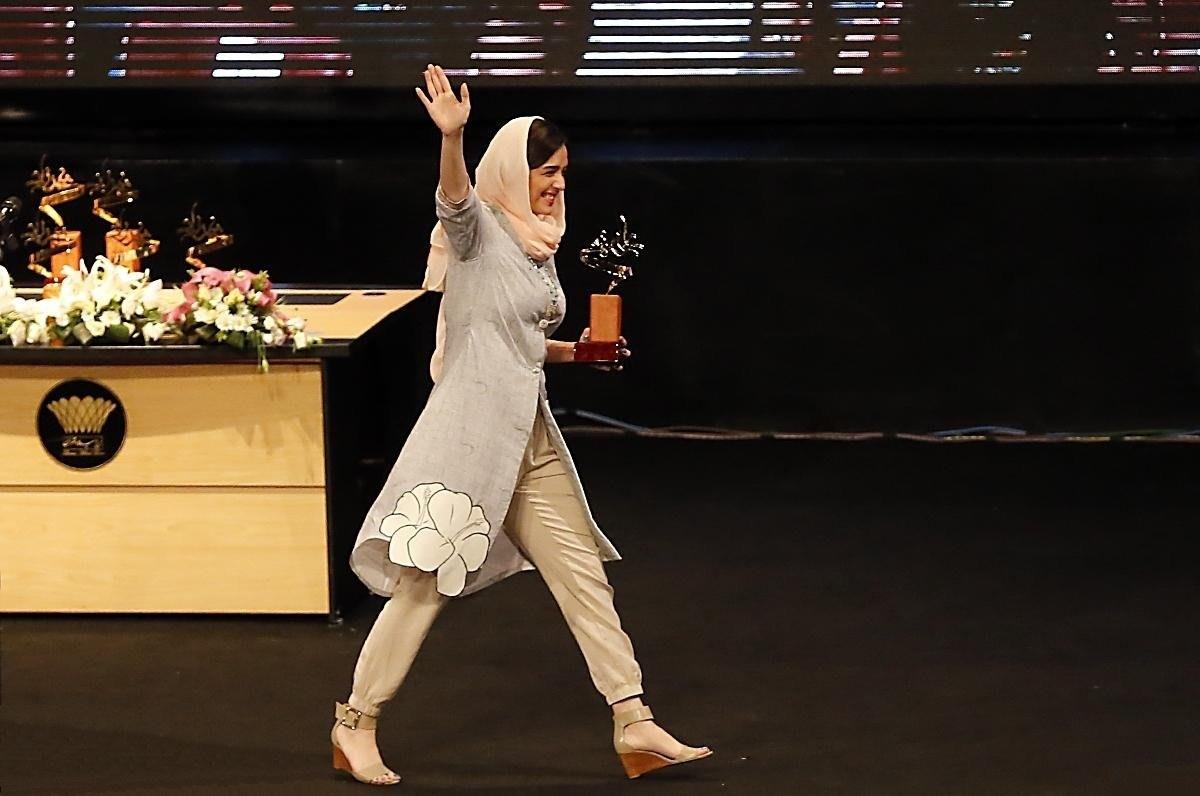 تجلیل از ترانه علیدوستی در جشن شهرزاد