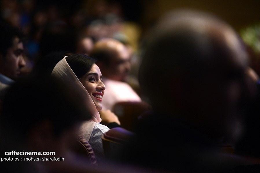 عکس ترانه علیدوستی در مراسم جشن شهرزاد