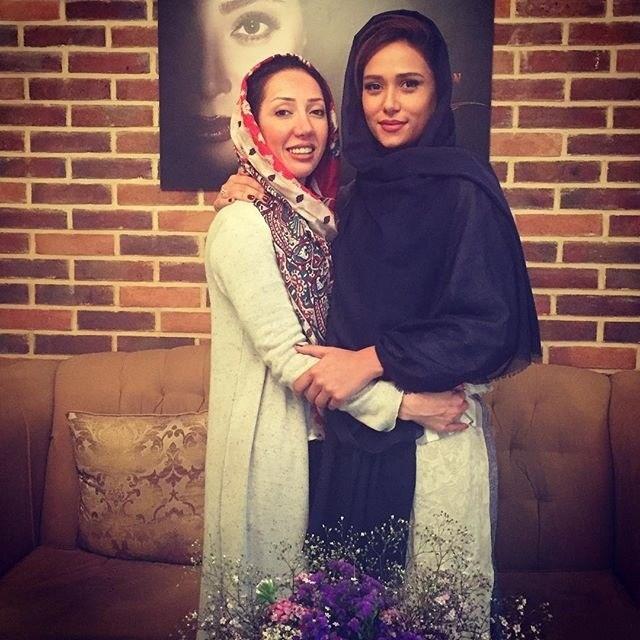 پریناز ایزدیار در سال زیبایی مریم سلطانی