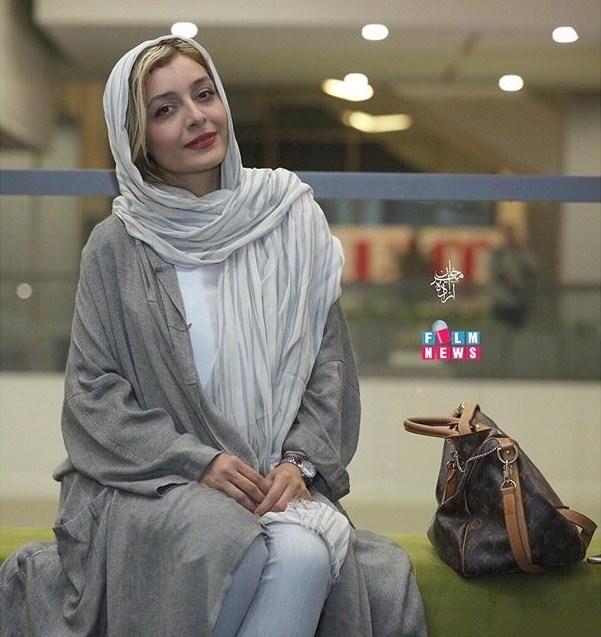 ساره بیات در اکران خصوصی فیلم عادت نمی کنیم