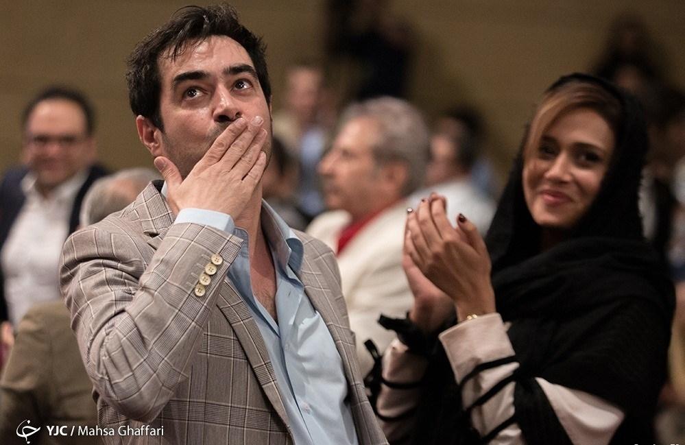 عکس شهاب حسینی در جشن سریال شهرزاد