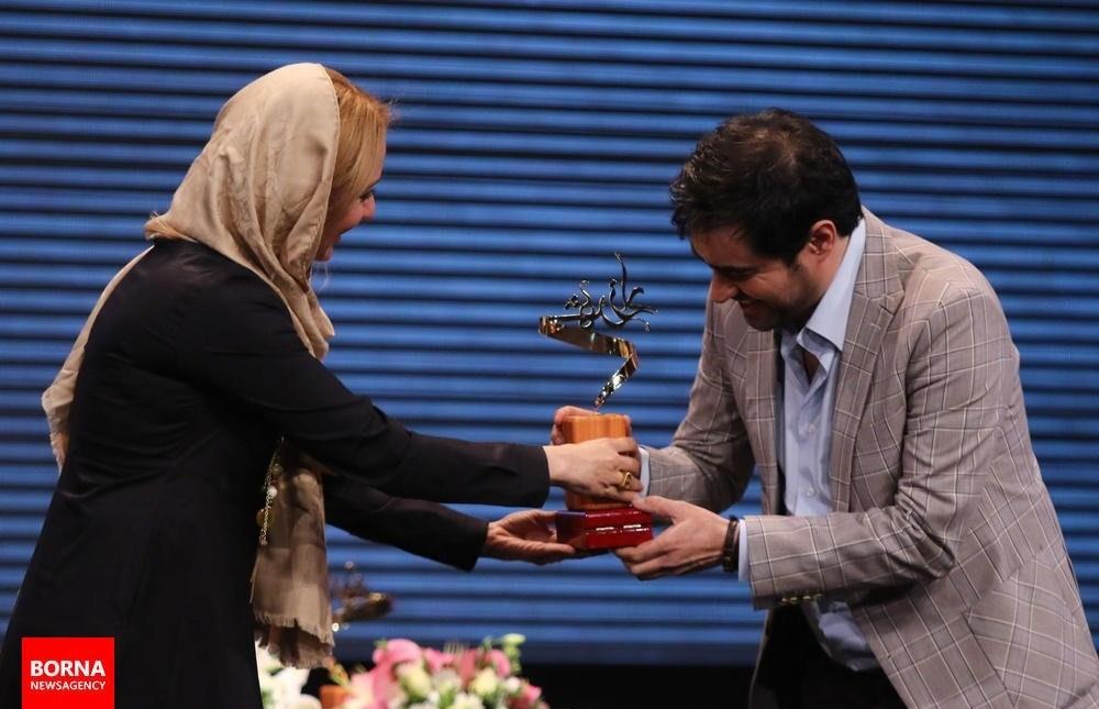 تجلیل از شهاب حسینی توسط مهناز افشار