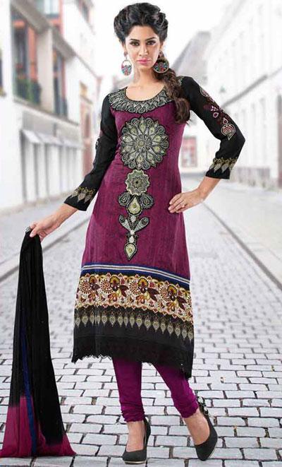 مدل های جدید لباس هندی 2016