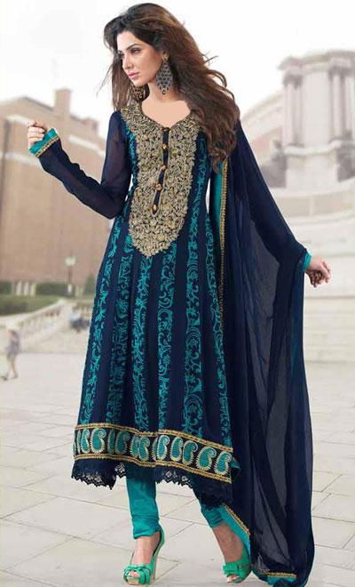 زیباترین مدلهای لباس هندی