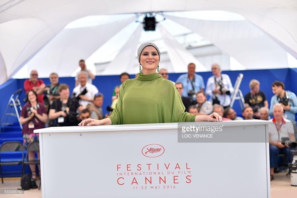 عکس سحر دولتشاهی در جشنواره فیلم کن 2016