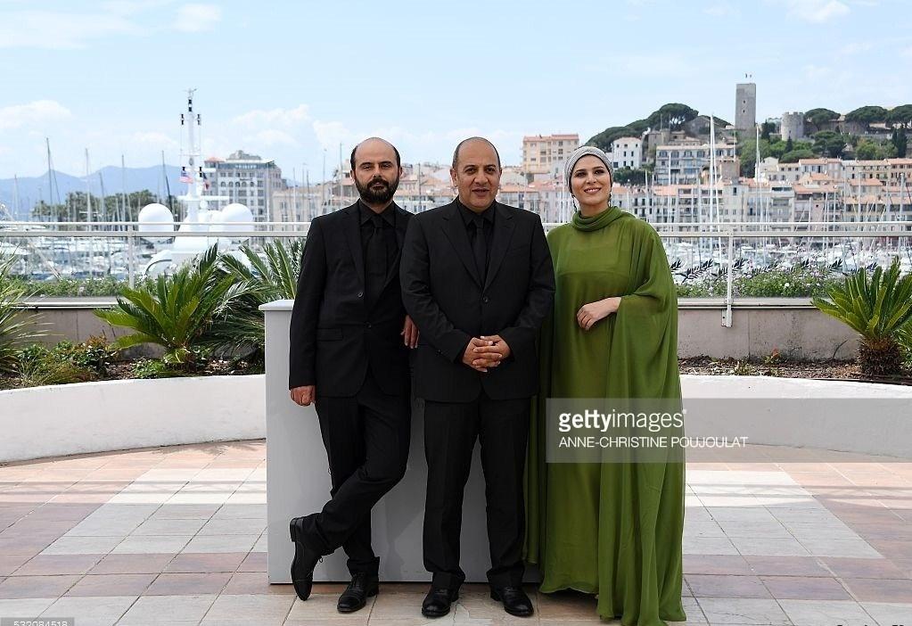 عکسهای سحر دولتشاهی و علی مصفا در جشنواره فیلم کن